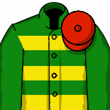 Grand National Racing Silk - JPM Red